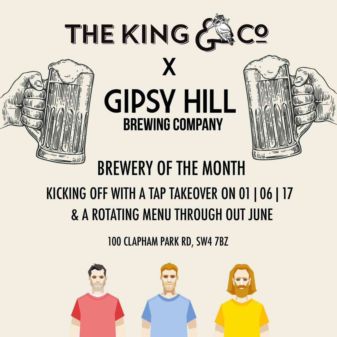 Gipsy Hill Tap Takeover