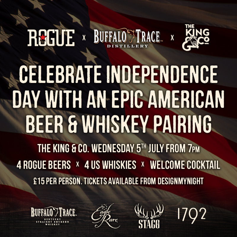 American Beer & Whisky Pairing Evening