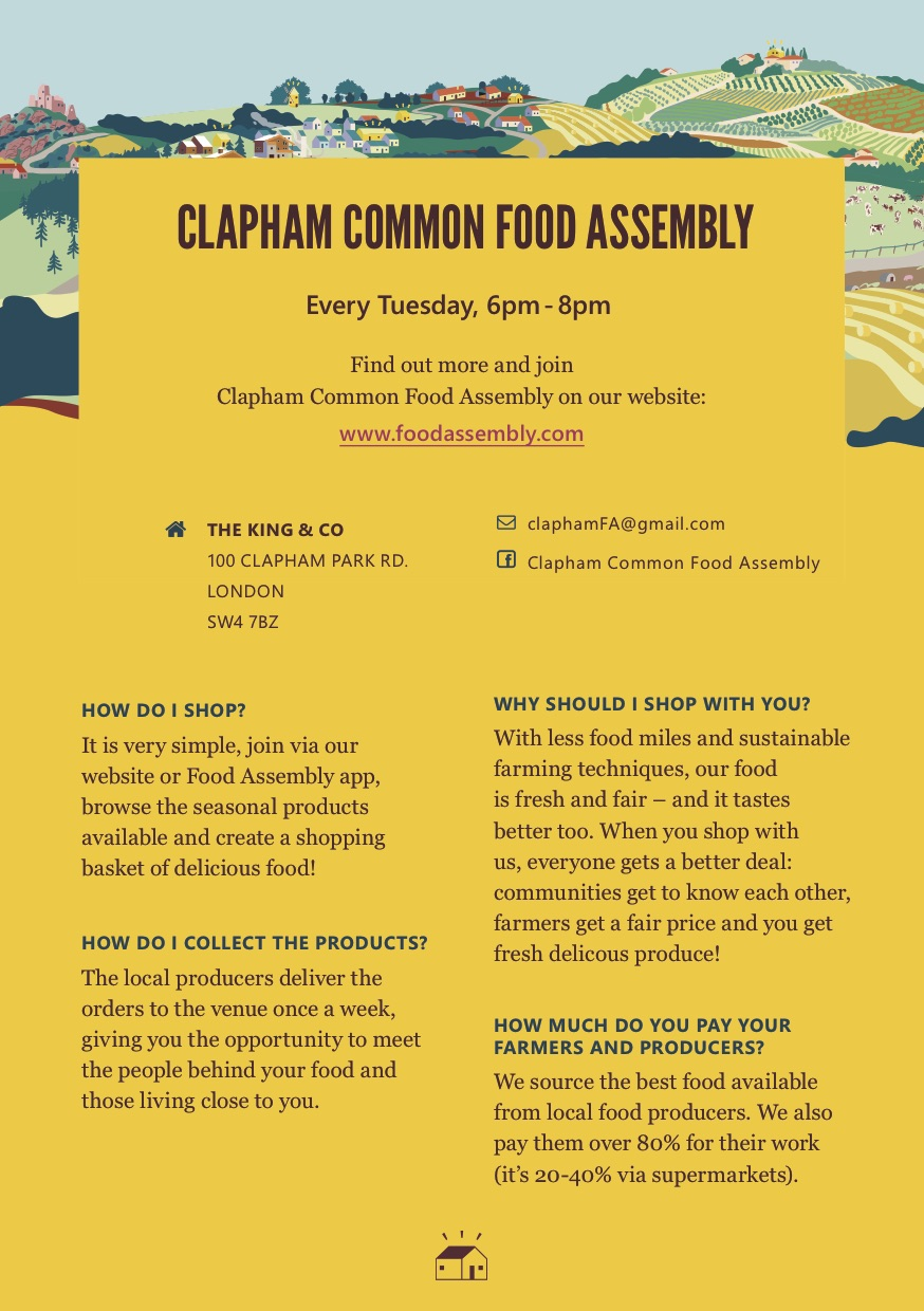 Clapham Common Food Assembly