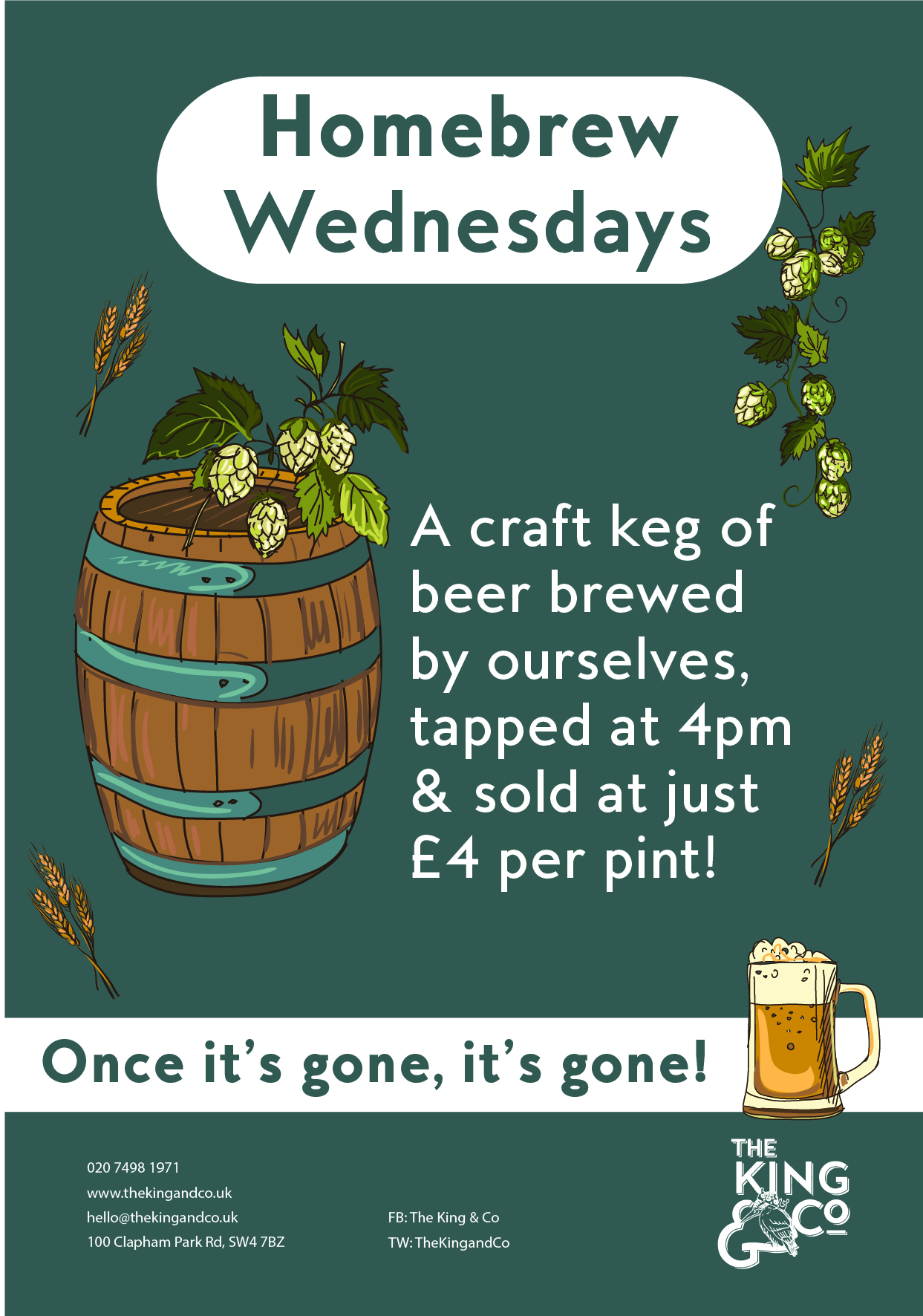 Homebrew Wednesdays