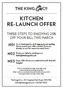 Kitchen Re-Launch Offer