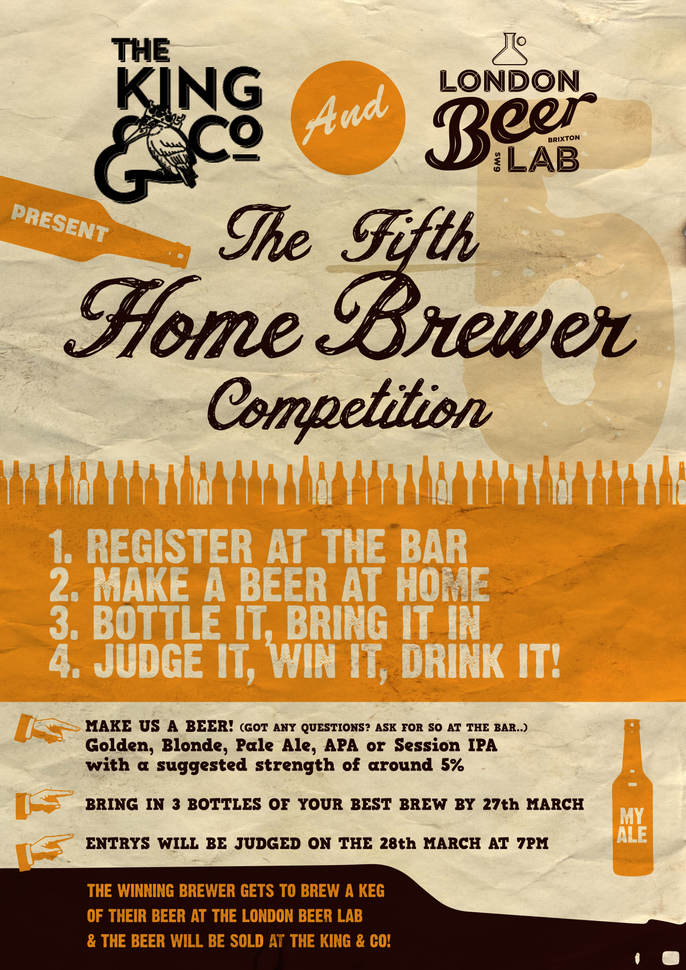 Fifth Home Brewer Competition