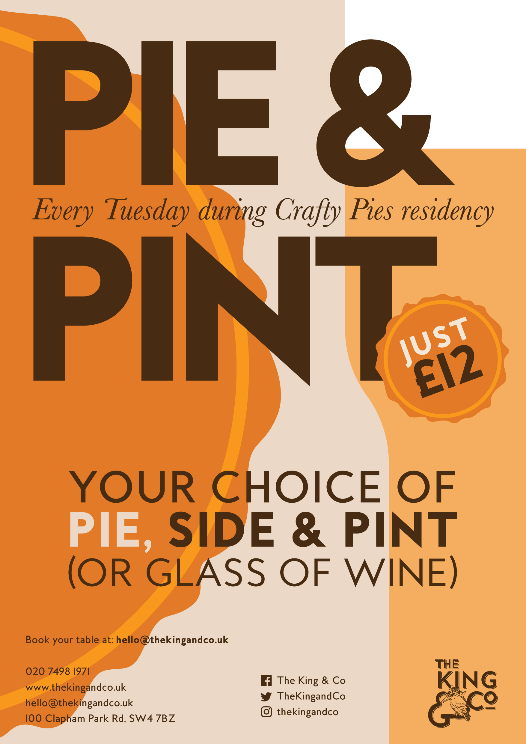 PIE & PINT NIGHT